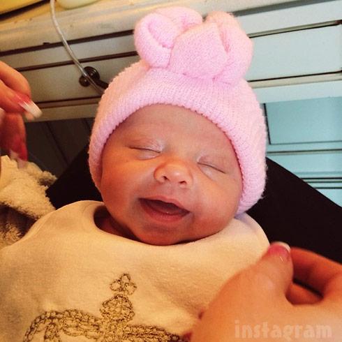 Kim Zolciak Biermann's twin daughter Kaia