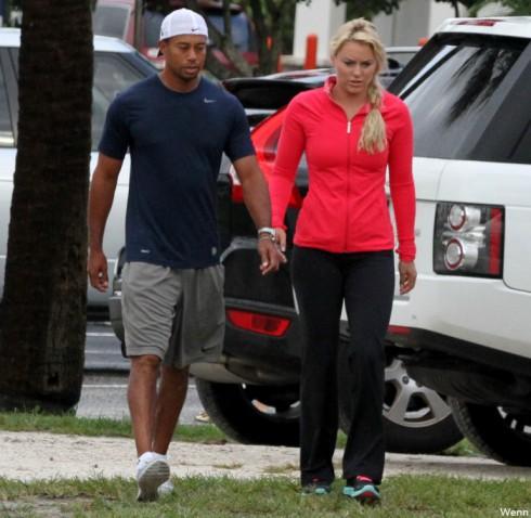 Lindsey Vonn - Tiger Woods