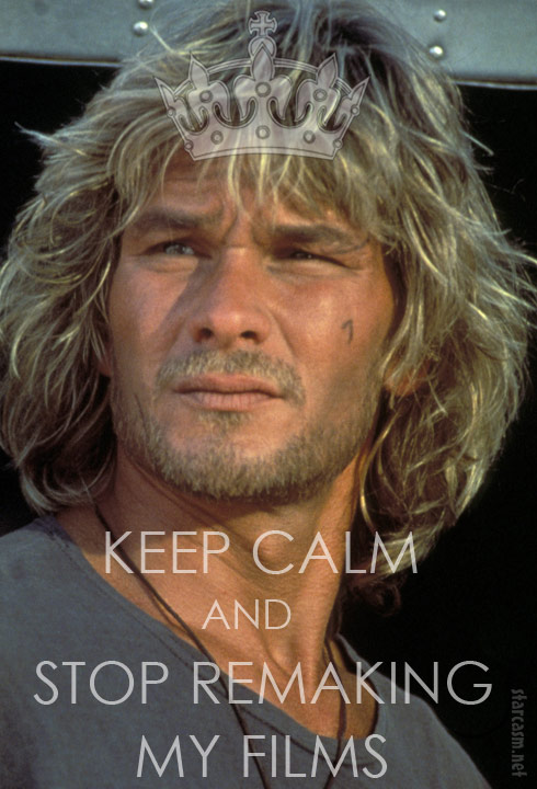 Keep Calm Patrick Swayze