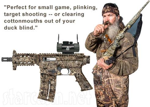Duck Dynasty Guns