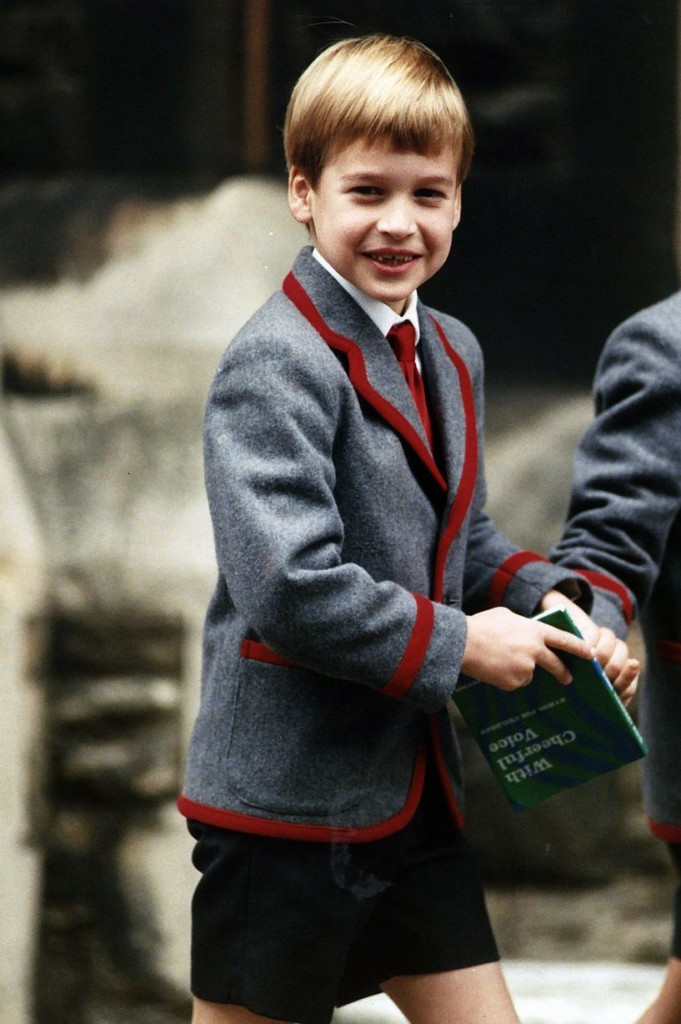 Image result for prince william at school