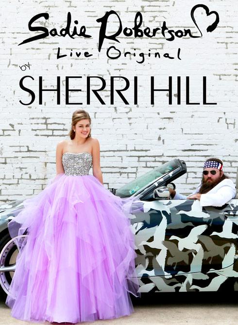 Sadie Robertson Sherri Hill Prom Dresses