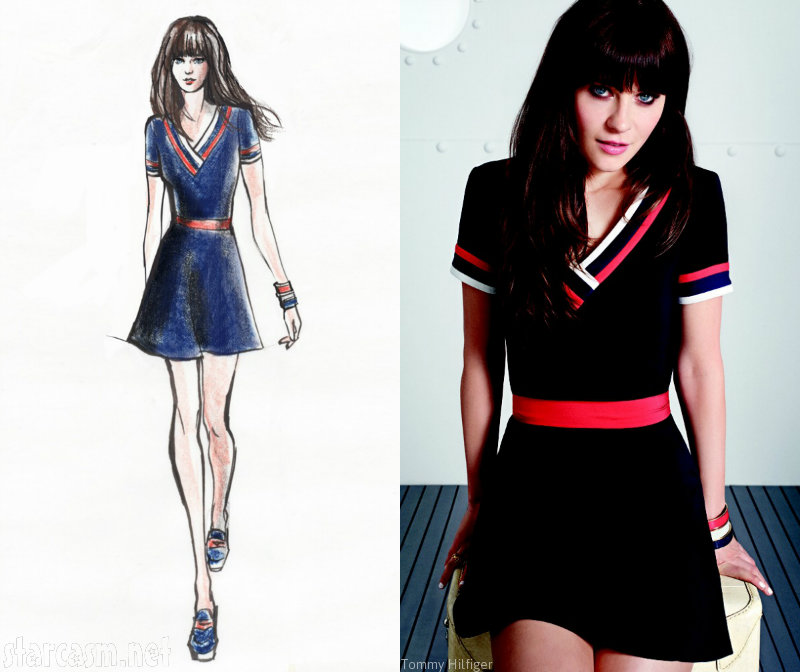 Zooey Deschanel pour Tommy Hilfiger la collection sera
