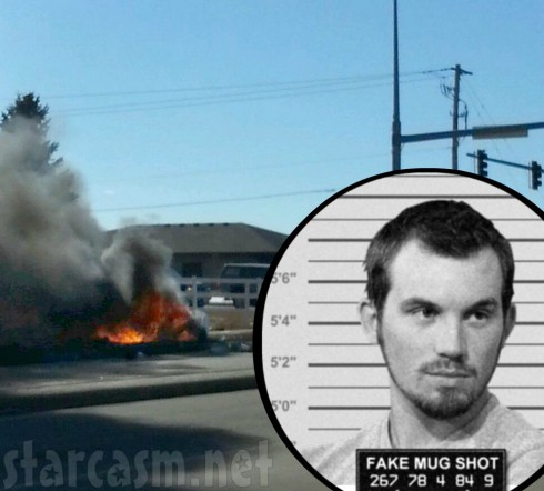 Adam Lind Car Wreck - Mug Shot