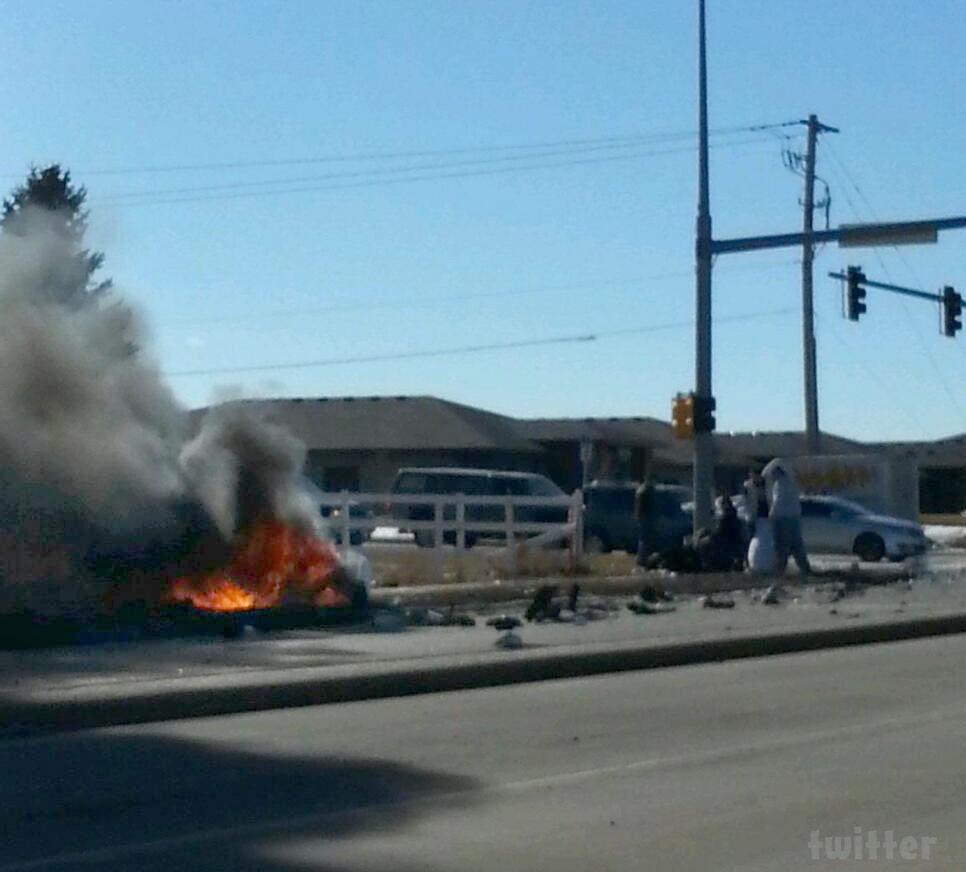 Adam Lind Car Crash