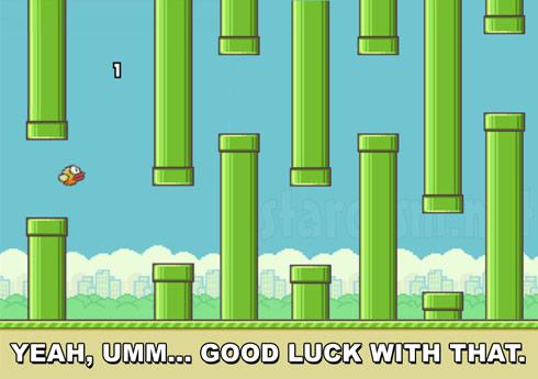 Flappy Bird hardest level ever