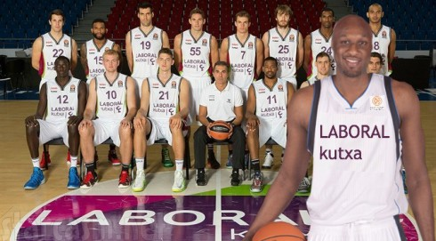 Laboral Kuxta - Euroleague - Lamar Odom