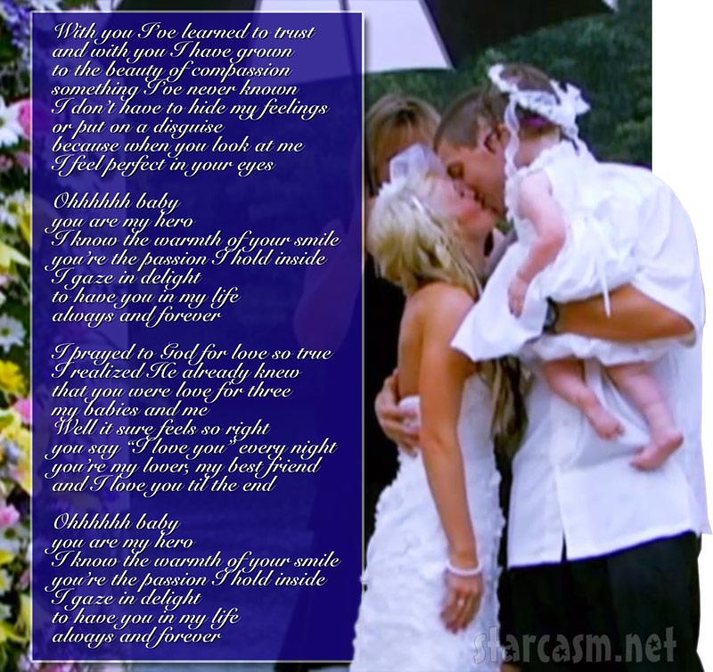 Leah Messer And Jeremy Calvert Wedding Song Always Forever Lyrics