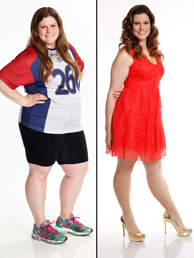 Rachel Frederickson BEFORE & AFTER weight loss; controversial Biggest Loser