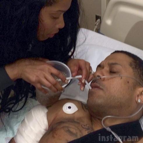 Love and Hip Hop Atlanta Benzino shot fiancee Althea Heart hospital