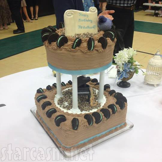 Erin Bates Wedding - Gothard Birthday Cake