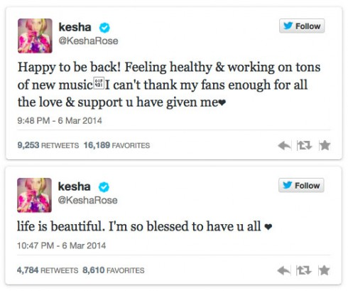 Kesha-tweets-post-rehab