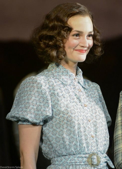 Of Mice and Men Broadway - Leighton Meester