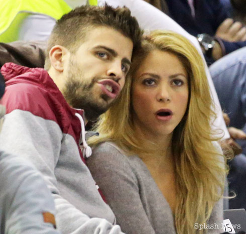 Shakira Straddles and Makes Out With Boyfriend Gerard Piqué After ...