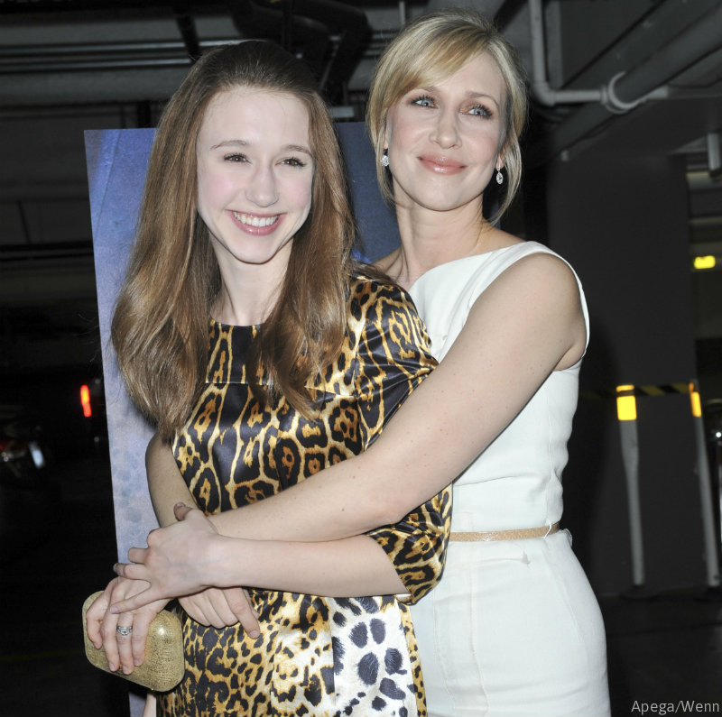 Photo of Taissa Farmiga & her Sister  Vera Farmiga