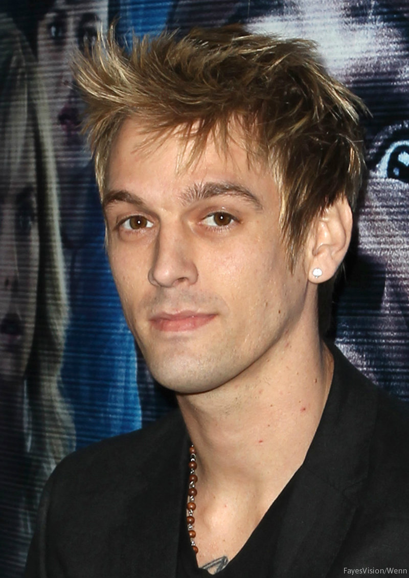 VIDEO Aaron Carter was...