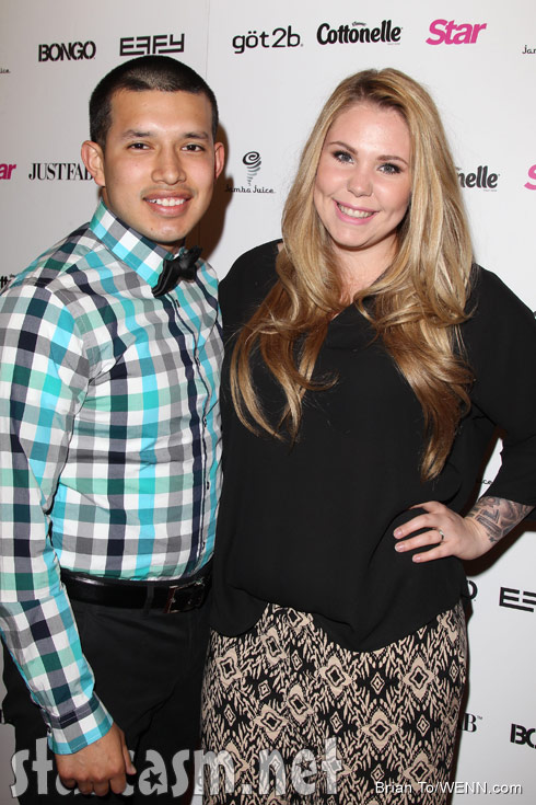 Javi Marroquin Kailyn Lowry red carpet Star Hollywood Rocks event