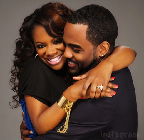 Kandi Burruss Todd Tucker married April 4 2014