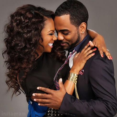 Kandi Burruss Todd Tucker wedding photo