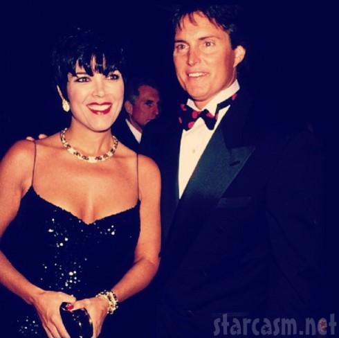 Kris Jenner - Bruce Jenner Anniversary