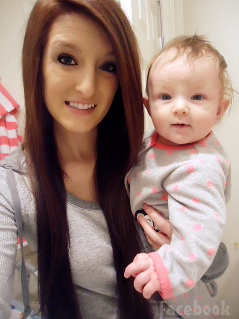 16 and Pregnant Season 5's Maddy Godsey and daughter Aubrey