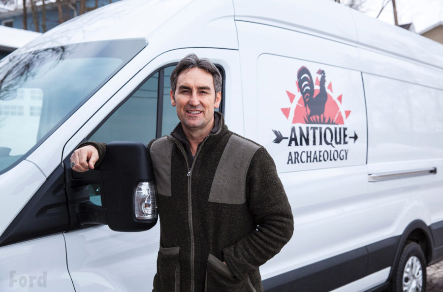 Photos What Kind Of Van Do The American Pickers Drive A