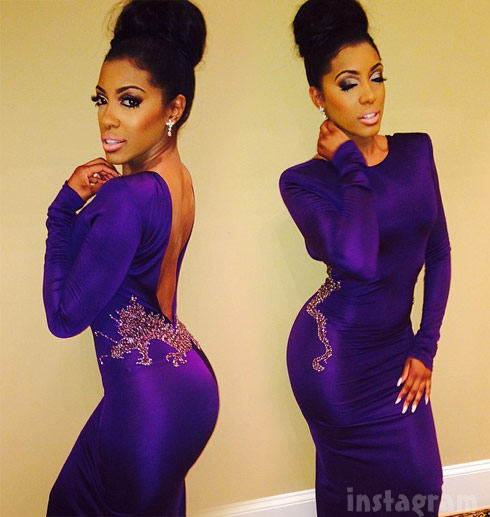 Porsha Williams Kandi Burruss wedding
