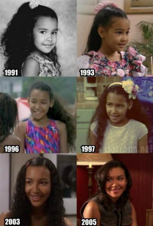 Glee S Naya Rivera Before And After Her Kim Kardashian