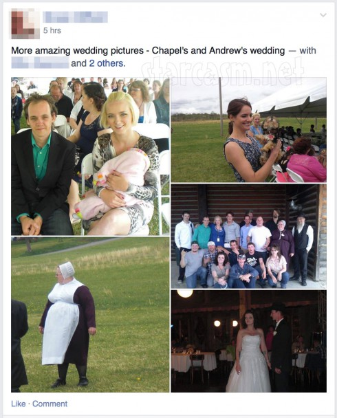 Breaking Amish Return To Amish Chapel Peace and Andrew Schmucker wedding photos