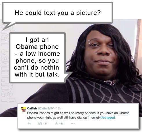 Catfish Antwane Obama phone