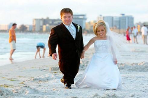 Bill Klein - Jen Arnold Wedding Picture