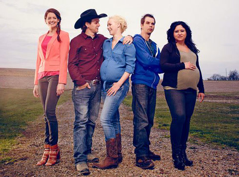 Breaking amish cast pregnant and dating 3