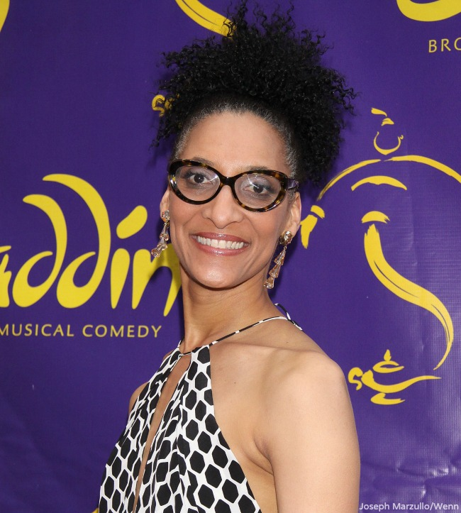 The Chew's Carla Hall's Modeling Photos