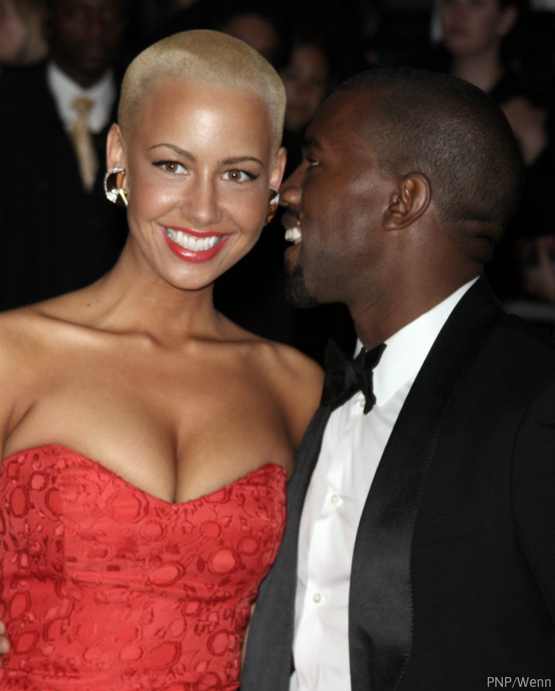 amber rose relationship with kanye west