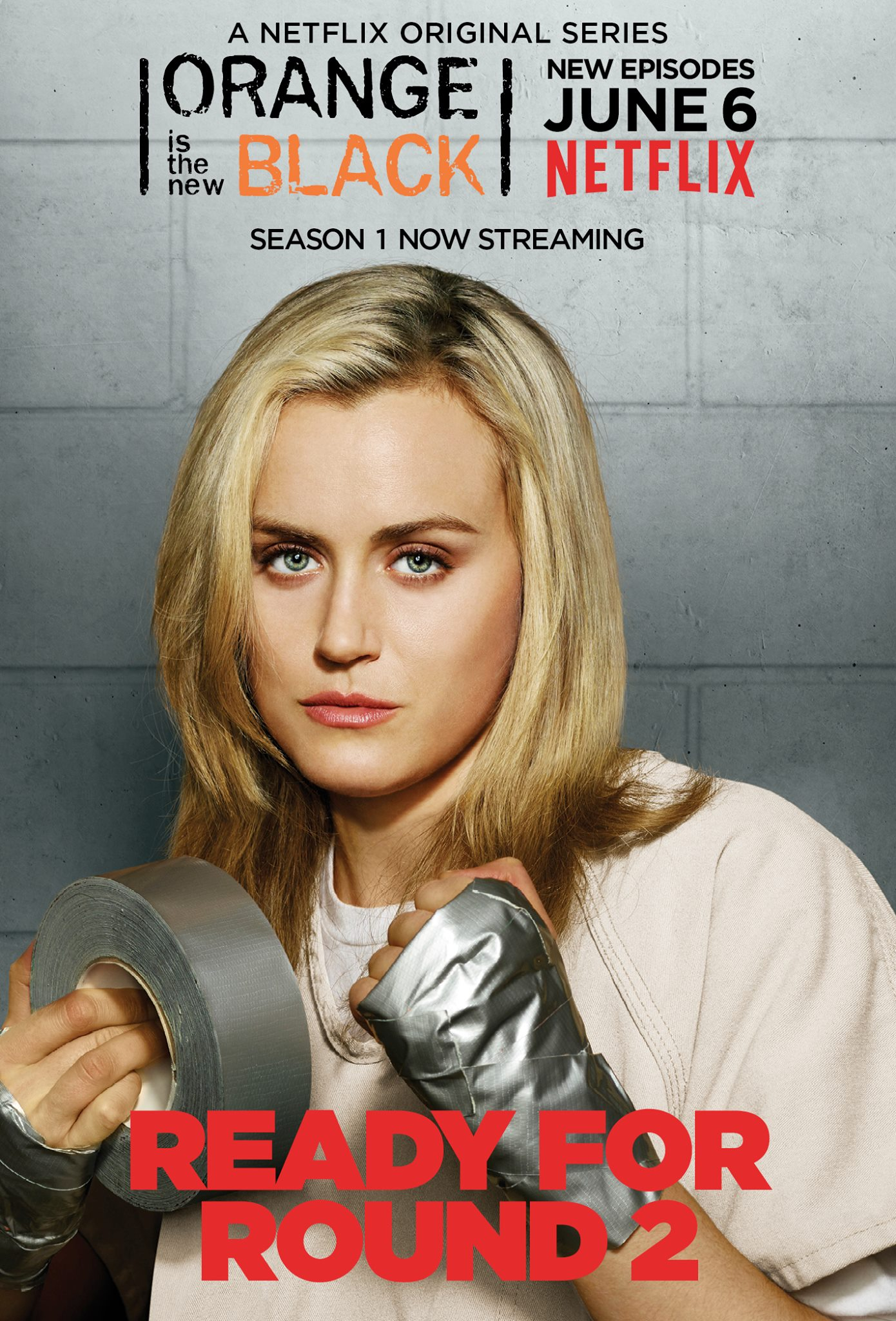 EXCLUSIVE OITNB Pennsatucky animated character poster plus Piper