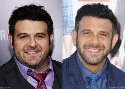 Adam Richman Before and After Weight Loss