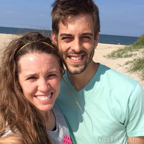 Jill Duggar Dillard honeymoon photo with Derick Dillard