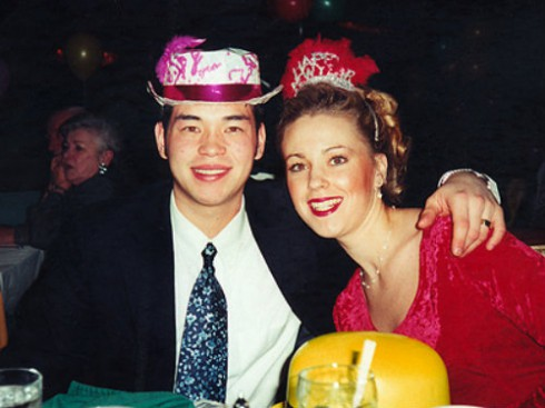 Young Kate Gosselin and Jon Gosselin
