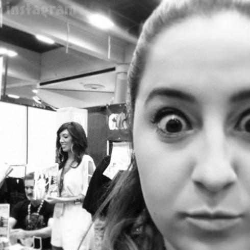 Farrah Abraham San Diego Comic-Con selfie