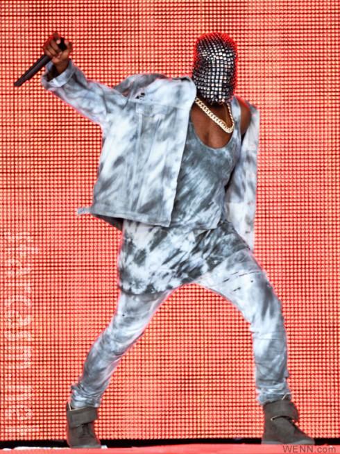 Kanye West Yeezus Maison Martin Margiela  mask