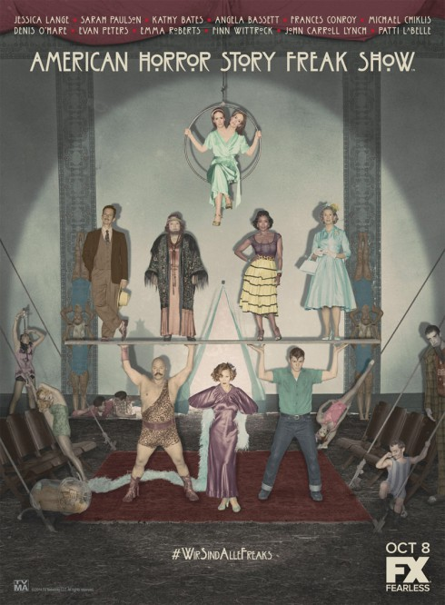 AHS_Freak_Show_cast_poster_