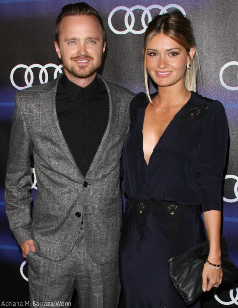 Aaron Paul - Wife Lauren Paul