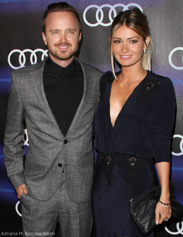 Who is Aaron Paul's wi...