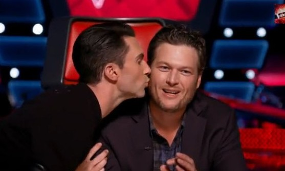 blake shelton and adam levine relationship
