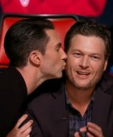 Adam Levine and Blake Shelton Feature