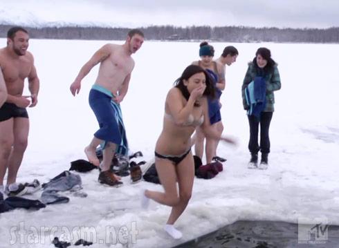 nude babes water sking