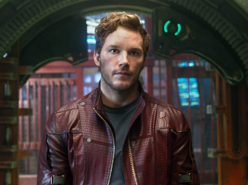Guardians of the Galaxy Chris Pratt Peter Quill