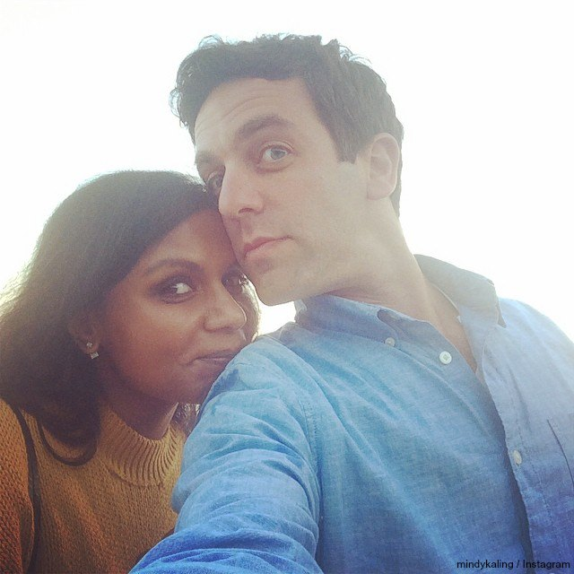 mindy kaling dating bj novak