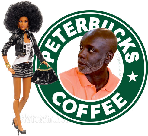 Cynthia Bailey doll Peter Thomas coffee - click to enlarge