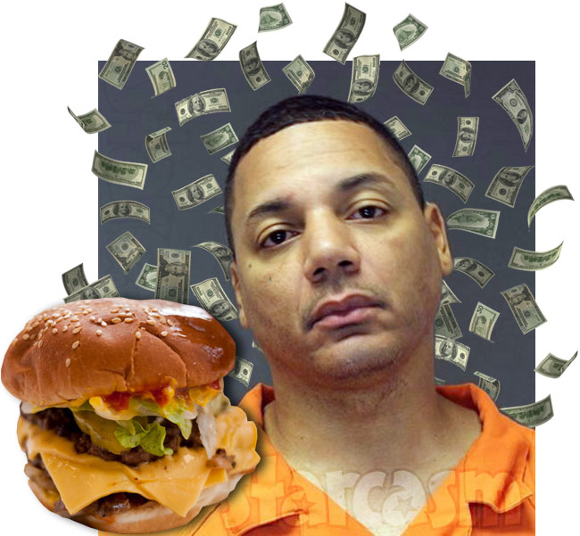 Rich Dollaz arrested while on Five Guys hamburger run, later held for unpaid child support